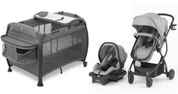 3 in 1 Travel System Stroller with Reversible Car Seat Playa
