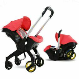 4in1 Infant Car Seat Stroller Baby Newborn Combos light Carr
