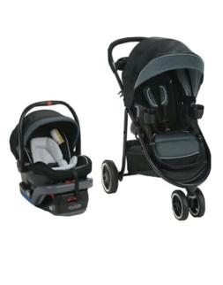 Baby Car Seat Stroller Combo Lite XT Travel System Safety Ca