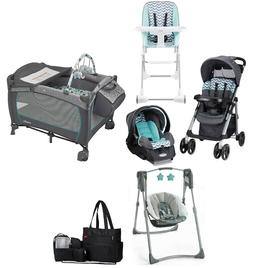 Baby Girl or Boy Combo Stroller with Car Seat Travel System