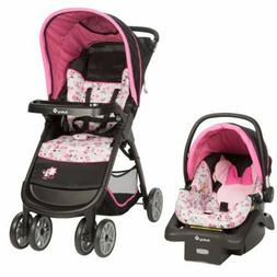 Baby Girl Stroller with Car Seat Combo Newborn Travel System