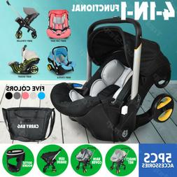 Baby Infant Car Seat Stroller Combos Newborn 4 in 1 Light We