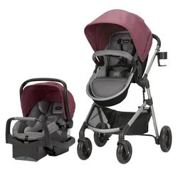 Baby Stroller Travel System with Car Seat Combo 3 in 1 Girls