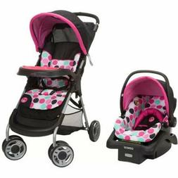 Baby Stroller Car Seat Combo Newborn Infant Girls Travel Sys