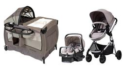 Baby Stroller Travel System with Car Seat Infant Toddler Pla