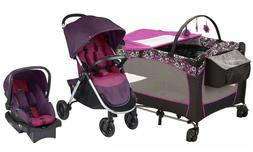 Baby Stroller with Car Seat Kid Infant Playard Travel System