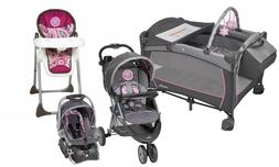 Baby Stroller Travel System with Car Seat High Chair Infant