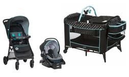 Disney Baby Stroller with Car Seat Infant Playard Crib Trave