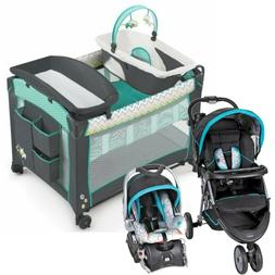 Baby Stroller Jogger with Car Seat Infant Playard Travel Sys