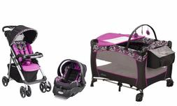 Evenflo Baby Stroller with Car Seat Infant Playard Travel Sy
