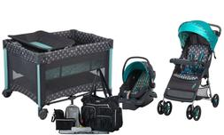 Baby Stroller with Car Seat Infant Playard Crib Diaper Bag T
