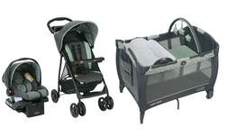 Graco Baby Stroller  Travel System with Car Seat Playard Cri