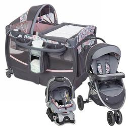 Baby Stroller with Car Seat Travel System Infant Toddler Pla