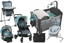 Baby Stroller with Car Seat Travel System Playard High Chair