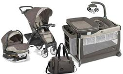 Chicco Bravo LE  Baby Travel System Stroller Car Seat Playar