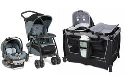 Chicco Baby Stroller Travel System with Car Seat Playard Cri