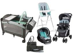 Evenflo Combo Travel System Stroller Car Seat Babysuite Play