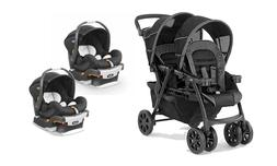 Chicco Cortina Together Baby Double Stroller with 2 KeyFit I