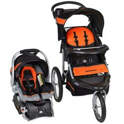 Baby Trend Expedition Jogger Travel System, Orange,Multi-pos
