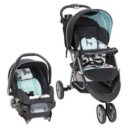 Baby Trend EZ Ride 35 Travel System, Doddle Dots Blue