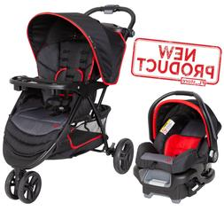Baby Trend EZ Ride Travel System, Mars Red One Size