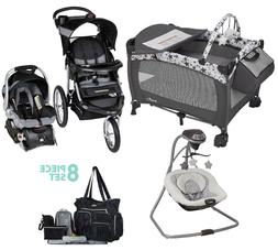 Infant Walk Out Combo Set Baby Jogger Stroller Car Seat Play
