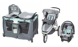 Baby Trend Jogger Stroller Car Seat Travel System Combo with