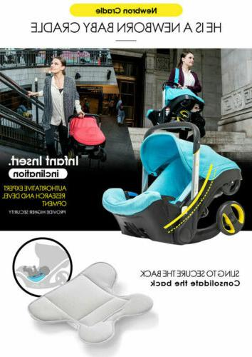 4 in Car Seat Stroller Newborn Combos Weight Travel US