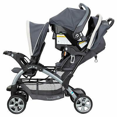 Baby Trend Stand Double 2 Seats Combo,