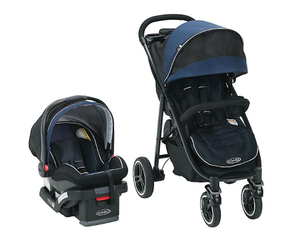 aire4 xt travel system stroller knox blue