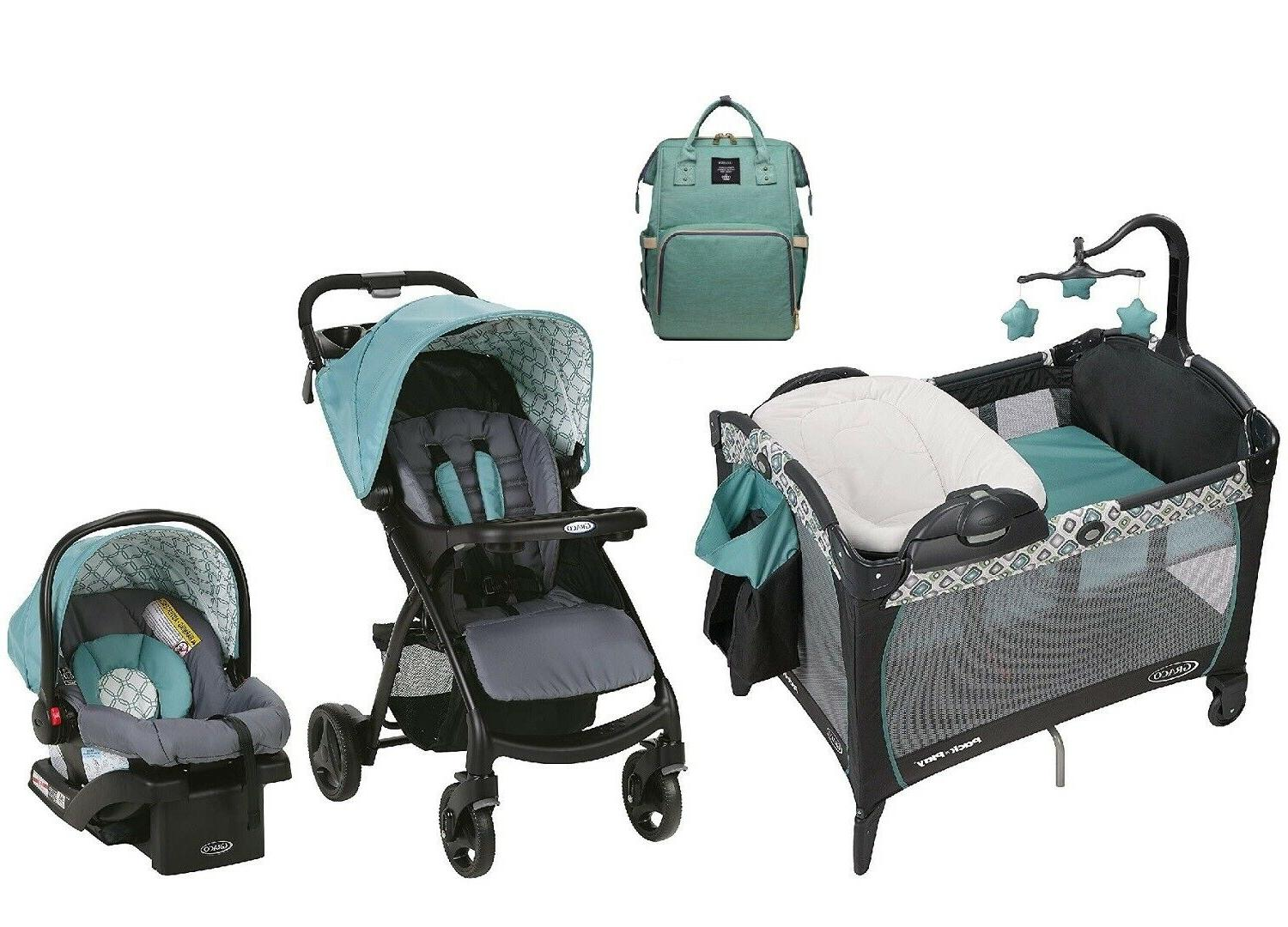baby combo travel system stroller with car
