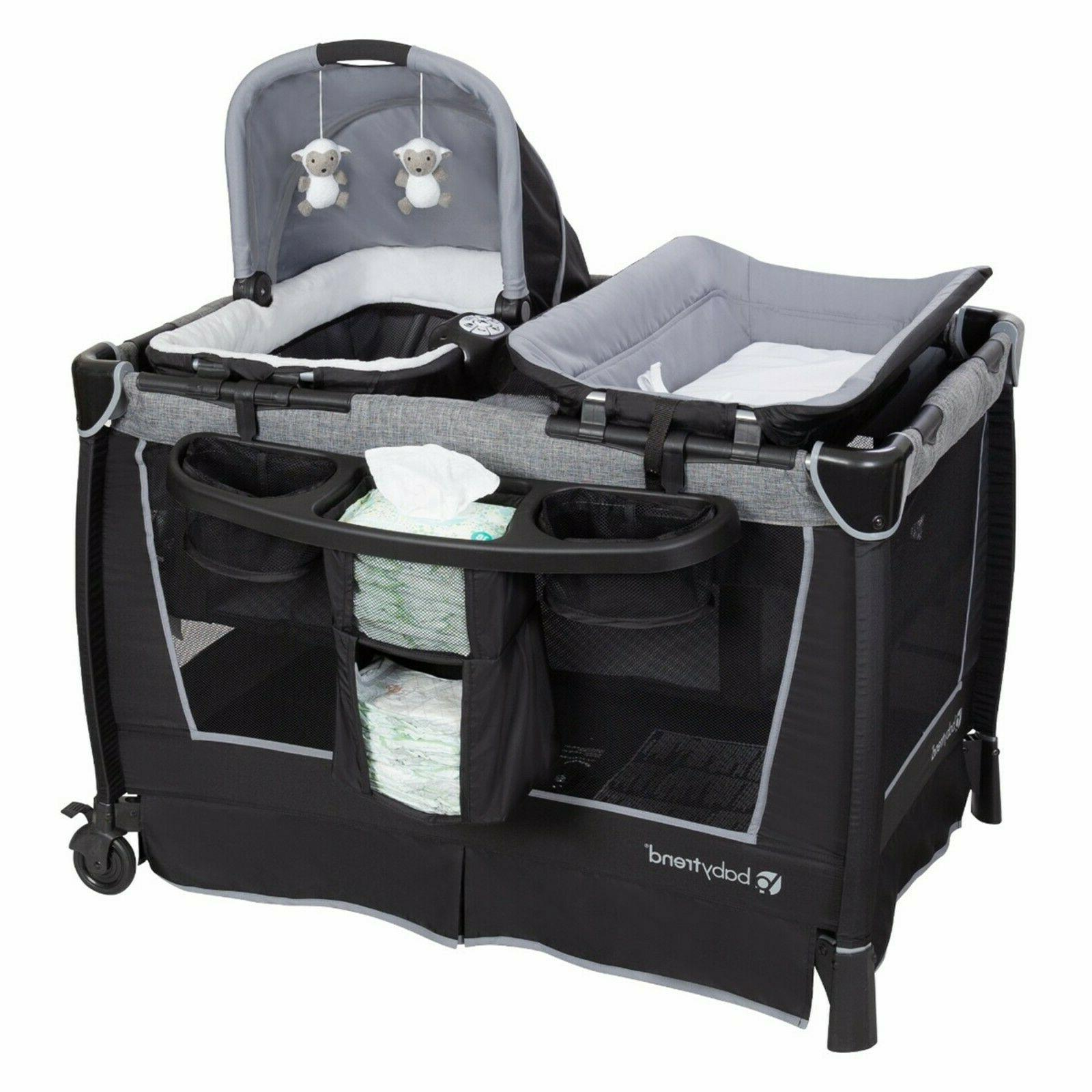 Baby Trend with Car Twin Playard Combo