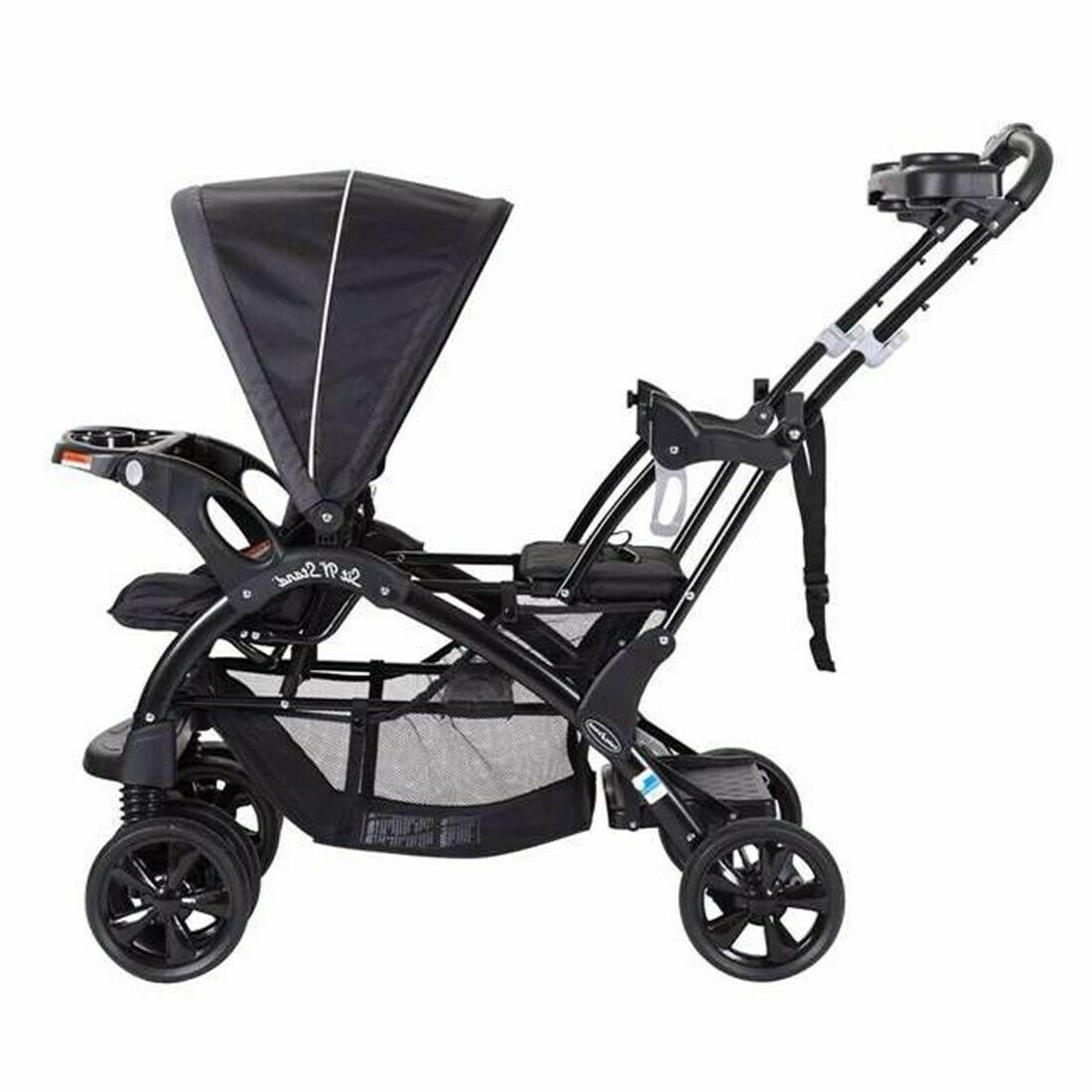 Baby with 2 Twin Playard Travel System Combo