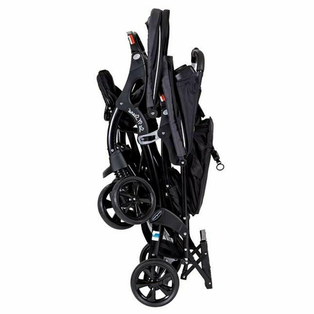 Baby with 2 Car Twin Travel Combo