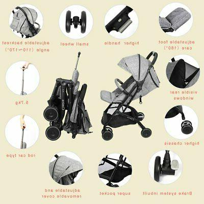 Baby Travel System Stroller Safety Seat Combo