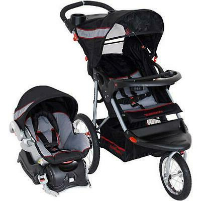Baby Jogging Stroller with Car Seat Combo Child Infant Jogge
