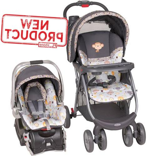 baby stroller and car seat combo outdoor