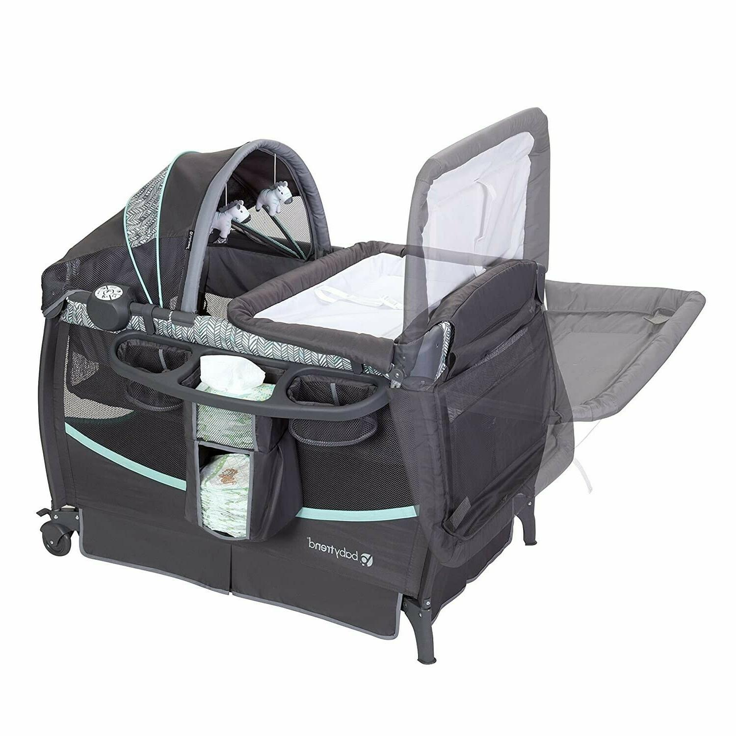 Baby Stroller System with Chair Bouncer Set