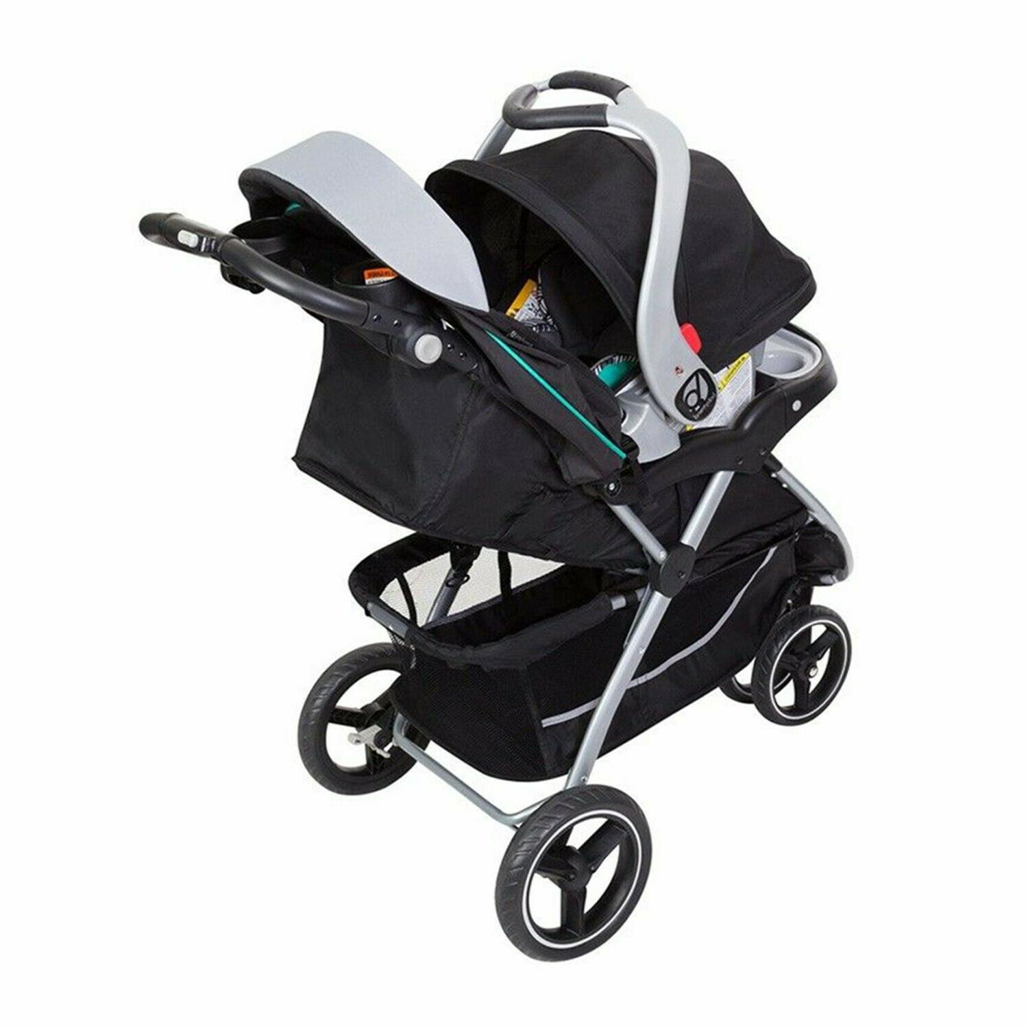 Baby Stroller with Car Chair Playard Set