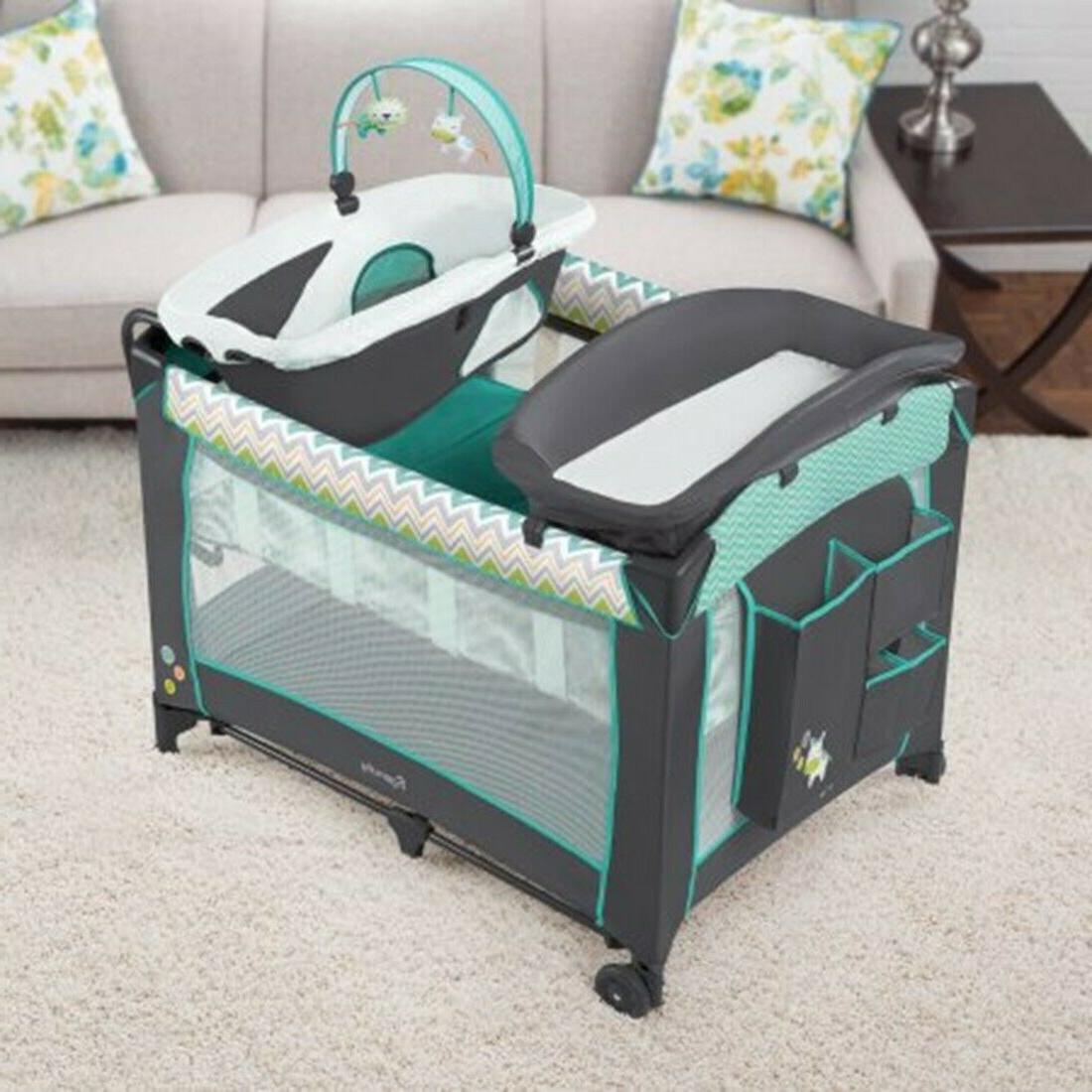 Baby Travel System with Car High Chair Bouncer Combo