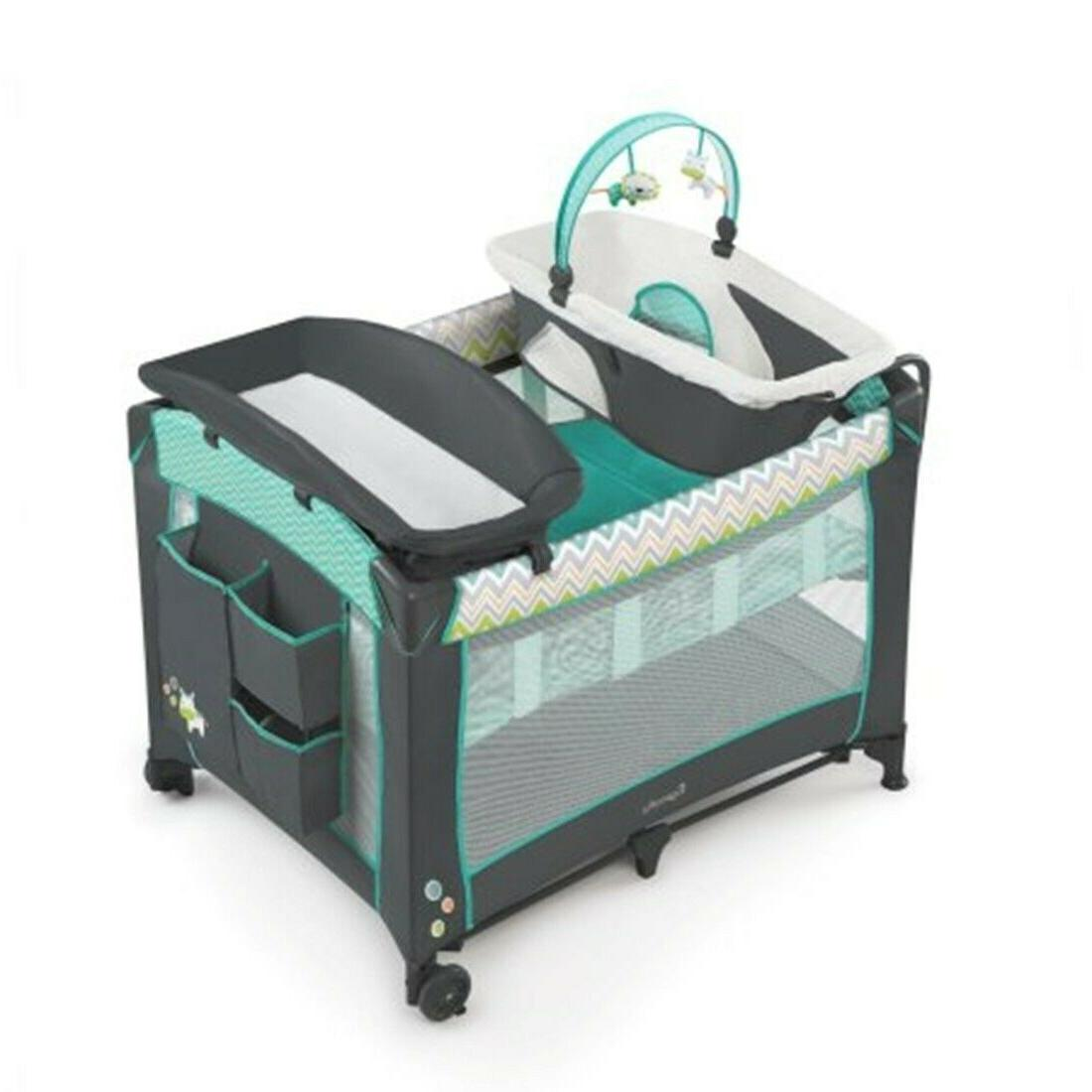 Baby System with Car Seat High Chair Bouncer Playard Combo