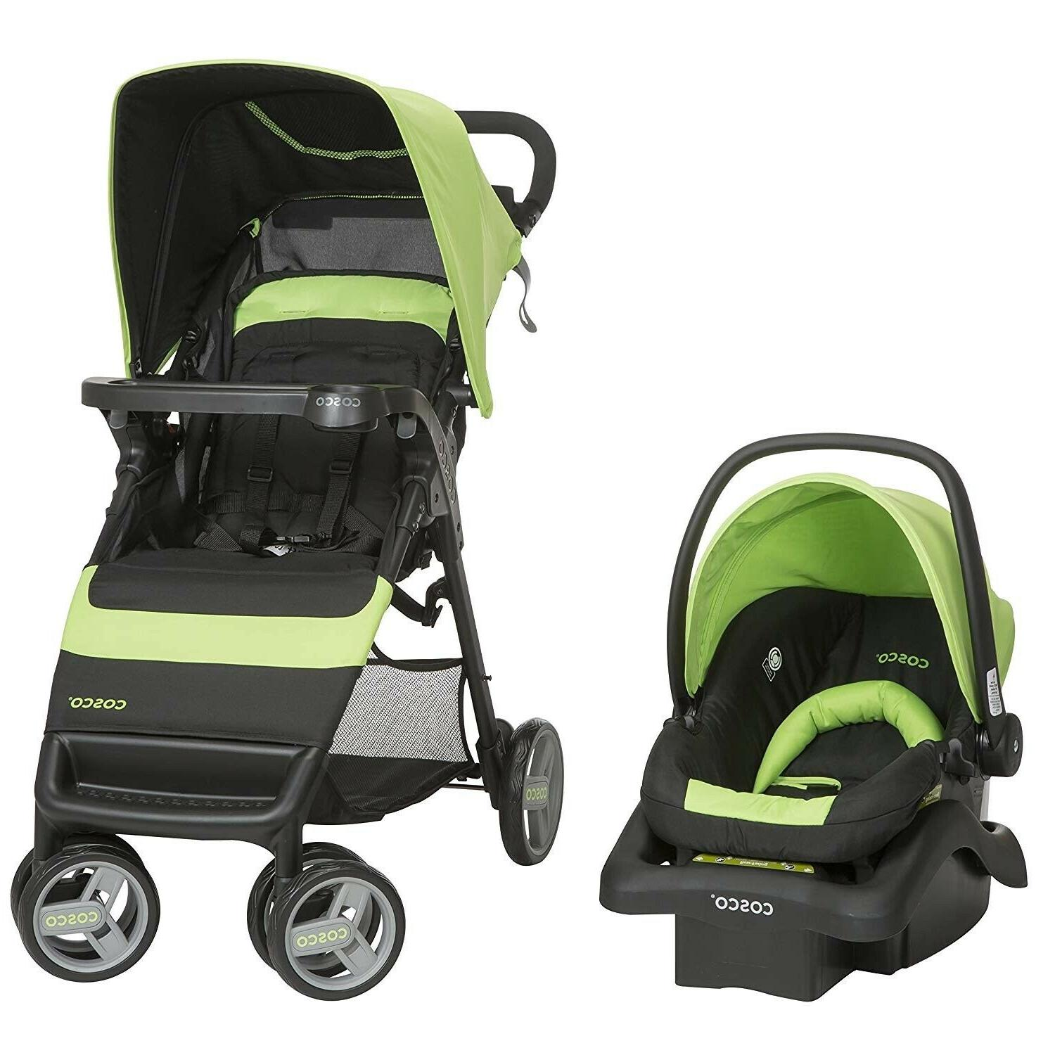 Baby Stroller Seat Deluxe Infant Playard Combo Set Unisex System