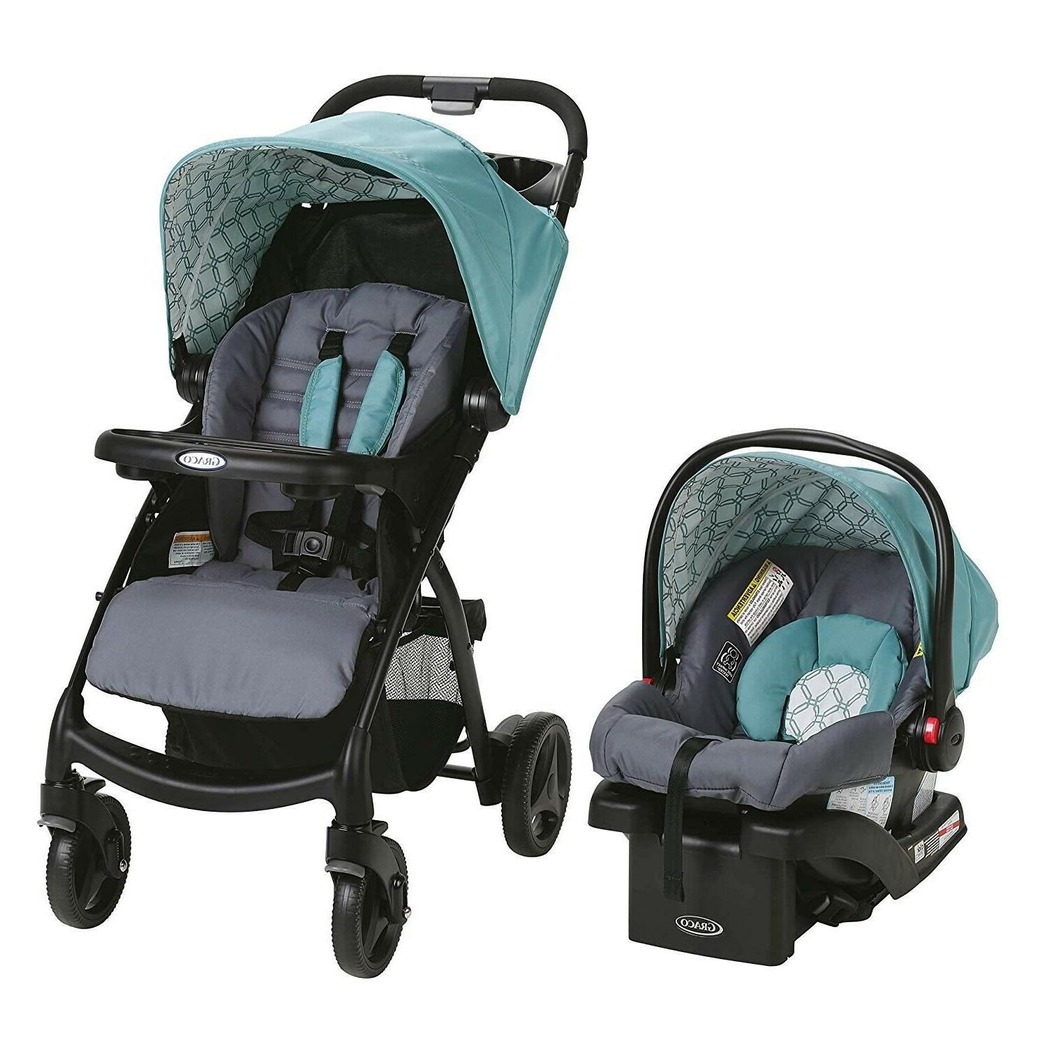 Baby Stroller Car Seat Infant Diaper Travel System Combo