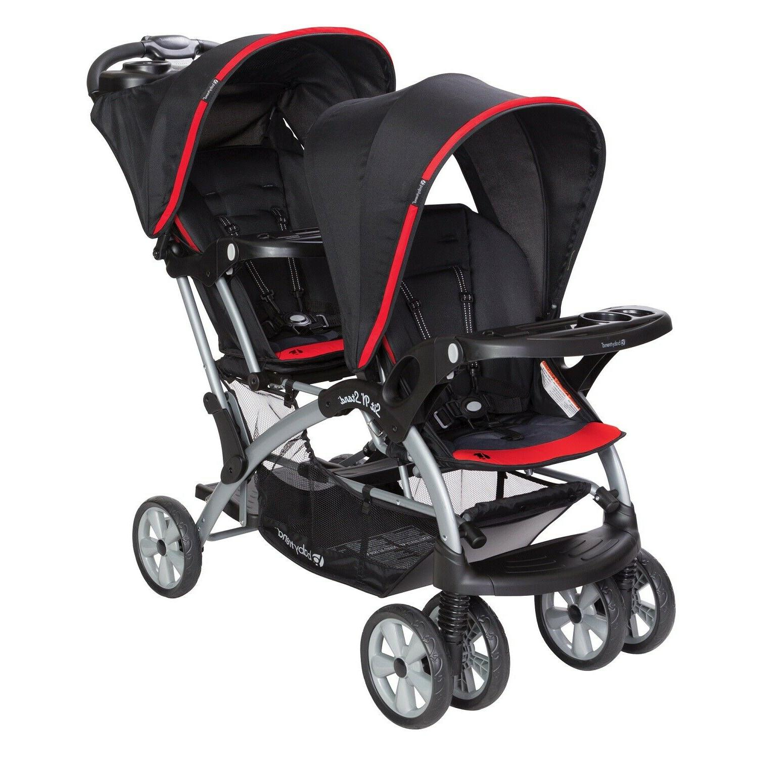 Baby Jogger with Car 2 Swings Bag