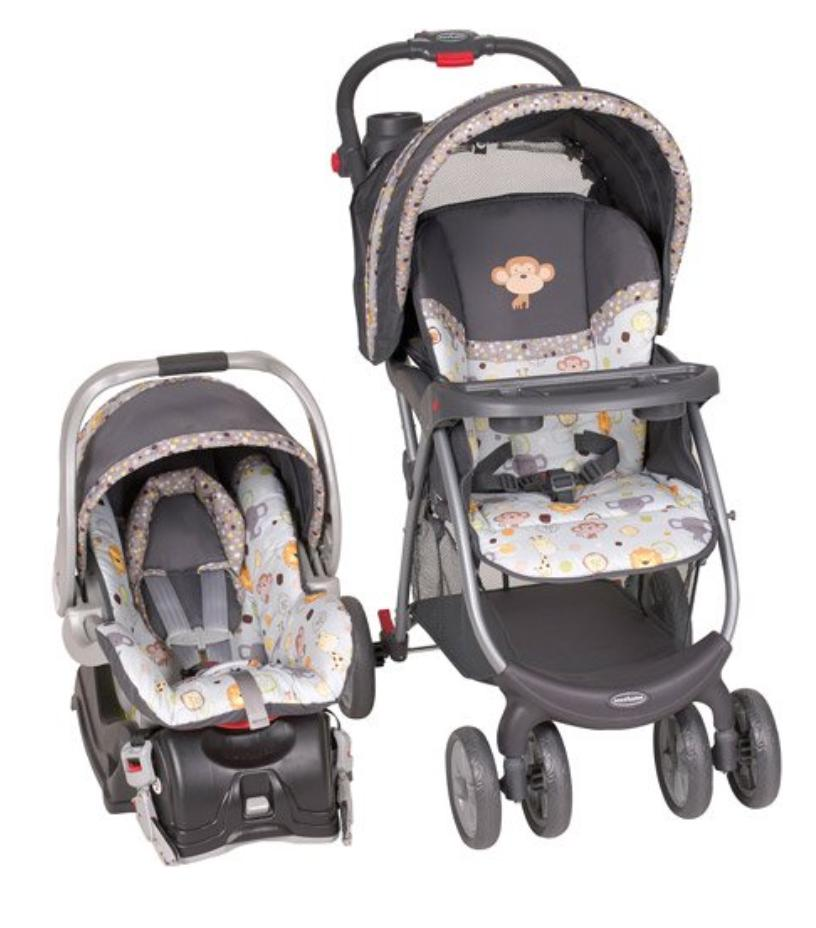 Car Seat and Stroller Combo Set Baby Infant