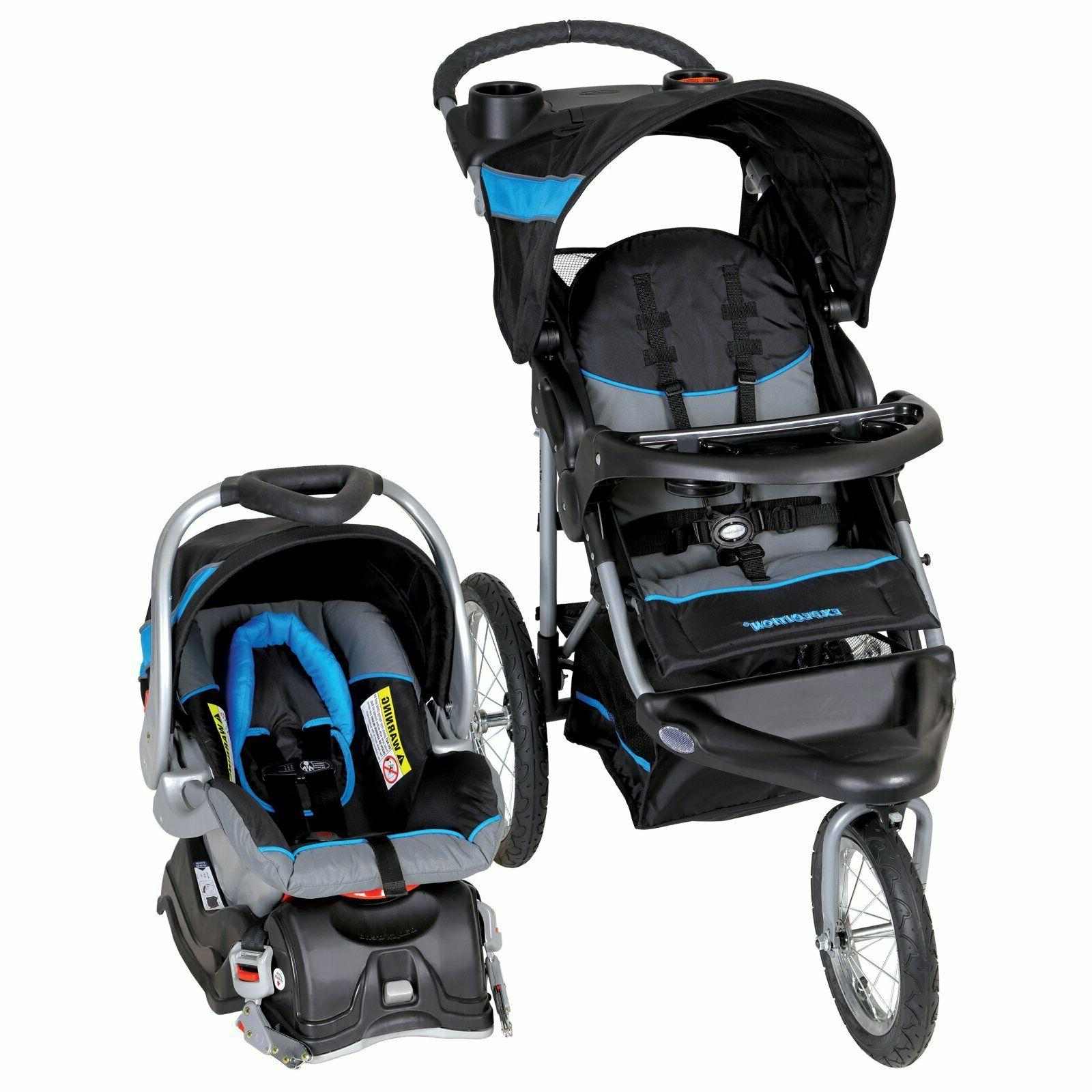 Baby Jogger Travel System Stroller Combo With Car Seat Boys
