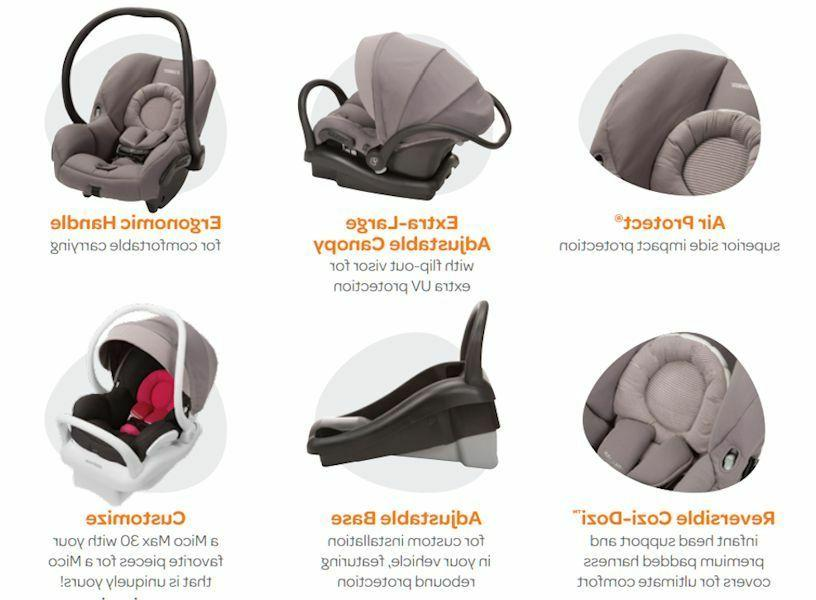 Maxi-Cosi Mico Air Protect Infant Car Seat NEW
