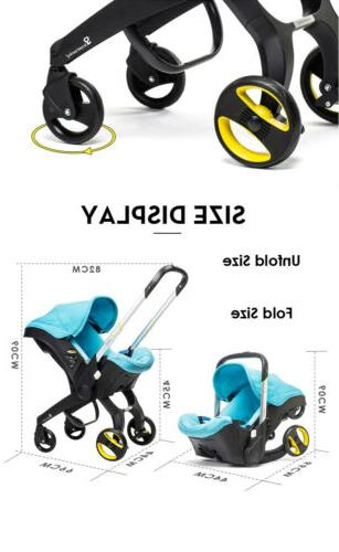 Multifunctional Car Baby Carriage 4 in for Newborn