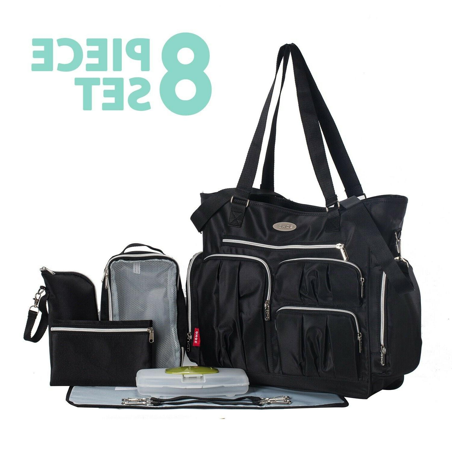 Baby Stroller Seat Diaper Bag Travel System Combo