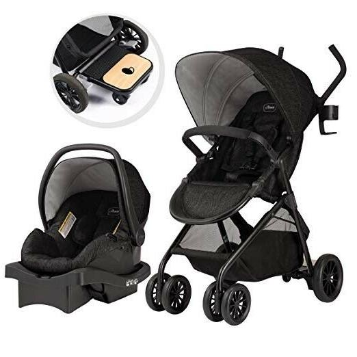 Stroller with Car Infant Nursery Crib Baby System Set